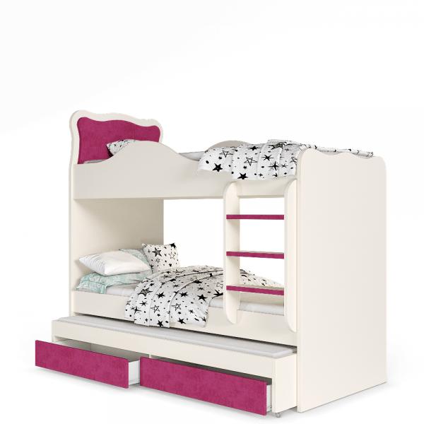 מיטת קומתיים לחדר ילדים עדן